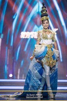 รวมรูปชุดประจำชาติสุดอลังการจากสาวงามตัวแทนจาก 77 จังหวัดทั่วประเทศ บนเวที Miss Grand Thailand 2017 - Pantip
