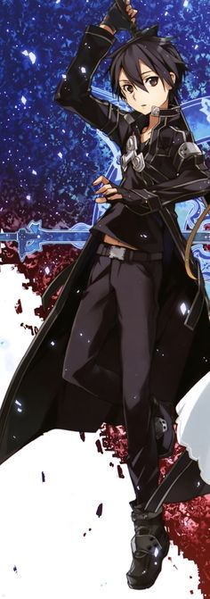 Sword Art Online, Kirito, by abec
