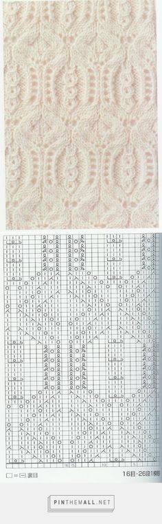 Lace Knitting Pattern Nr 61