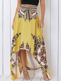 So cute. Love high low dresses, don't see why not skirts?