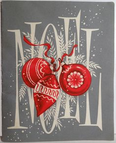 Noel - this is so pretty!  Love it!  #typography #christmas