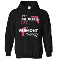Fort Lauderdale-Vermont FLORIDA - #pocket tee #plain tee. I WANT THIS => https://www.sunfrog.com//Fort-Lauderdale-Vermont-FLORIDA-3778-Black-Hoodie.html?68278