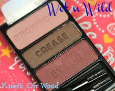 Wet N Wild ColorIcon Eyeshadow Trio: Knock On Wood
