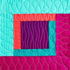 New Ideas free motion quilting designs squares block patterns Quilting Stitch Patterns, Sewing Machine Quilting, Patchwork Quilt Patterns, Machine Quilting Patterns, Modern Quilt Patterns, Quilt Patterns Free, Quilting Ideas, Longarm Quilting, Sewing Machines