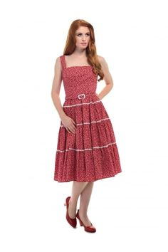 Aida Zak Erina Flared Dress