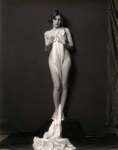 Adrienne Ames, ]Ziegfeld Follies Girl. The Ziegfeld Follies were a series of elaborate theatrical productions on Broadway in New York City from 1907 through 1931. Inspired by the Folies Bergères of Paris, the Ziegfeld Follies were conceived and mounted by Florenz Ziegfeld. Photography by Alfred Cheney Johnston, the official photographer of the Zeigfeld Follies.