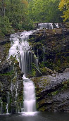 Bald River Falls, Cherokee National Forest, Tennessee This can't be too far from home . need to see it! Beautiful Waterfalls, Beautiful Landscapes, Famous Waterfalls, Places To Travel, Places To See, Nature Photography, Landscape Photography, Travel Photography, Exposure Photography