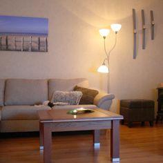 Lámpara de pie FIRENZE 3 - Lámpara de pie muy atractiva y funcional en acero inoxidable con tres pantallas de cristal de murano. Con una brazo para lectura. Incluye regulador.
