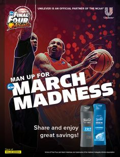 Slam dunk your way to great savings on Suave and Axe products. Share the savings with your friends for even higher value coupons.