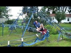 A roller coaster in the backyard? Ok, as long as it's just a small one...:)