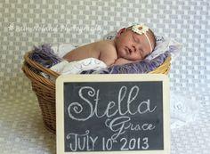 newborn photography, newborn girl, newborn session, Pam Noland Photography