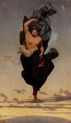 Night (La Nuit) - Jean-Léon Gérôme 1850-1855 - Night. Canvas,76,5 x 46 cm RF 1984-27 Musee d'Orsay, Paris, France (Thx Ada)
