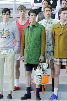 Carven menswear s/s 2013....I don't think so!