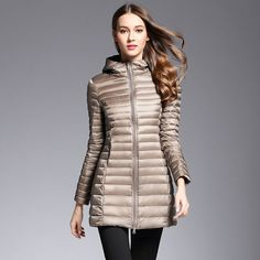 AKITSUMA Long Down Jacket Women Winter Down Coats Ultra Light Down Jacket Quilted Hooded Coat     Tag a friend who would love this!     FREE Shipping Worldwide     Buy one here---> https://onesourcetrendz.com/shop/all-categories/womens-clothing/womens-jackets/akitsuma-long-down-jacket-women-winter-down-coats-ultra-light-down-jacket-quilted-hooded-coat/