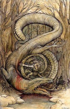 Siegfried et Fafnir