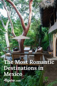 For couples in search of romance, Mexico offers plenty of appeal, from the beautiful secluded beaches and tropical jungles to the luxurious resorts and historic cities. There are many parts of the country that have a romantic vibe, but here are five south-of-the-border destinations where we think the sparks will always fly. #Mexico #Honeymoon #Travel