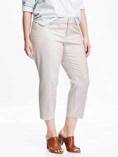 Smooth & Slim Plus-Size Harper Pants $45. oldnavy.com