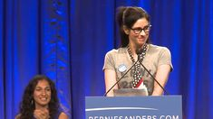 Sarah Silverman Introduces Bernie Sanders in L.A. - Published on Aug 13, 2015 Comedian Sarah Silverman introduces presidential candidate, U.S. Senator Bernie Sanders, to an estimated crowd of 27,500 in Los Angeles, California.