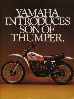Yamaha advertisement