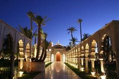Palais Namaskar - Oetker Collection's newest hotel in Marrakech, Morocco Morocco Hotel, Marrakech Morocco, Marrakech Hotels, Paris Hotels, Spas, Hotels And Resorts, Best Hotels, Fine Hotels, Siena