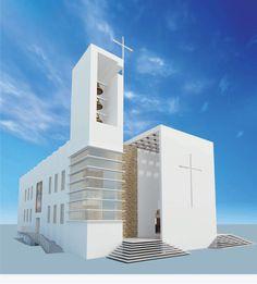 maquete igreja - Pesquisa Google