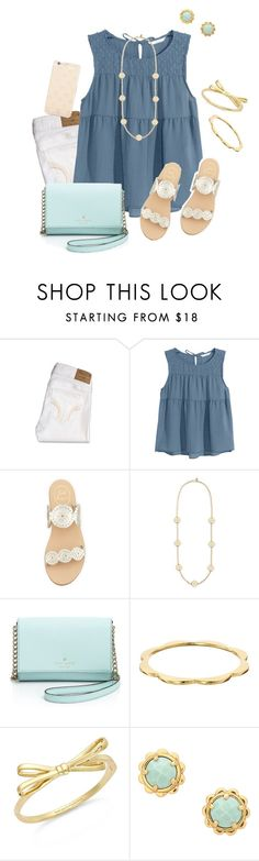"""don't forget to enter my contest!"" by southrnblle ❤ liked on Polyvore featuring Hollister Co., H&M, Jack Rogers, Tory Burch, Kate Spade and SBstudiesabroadcontest"