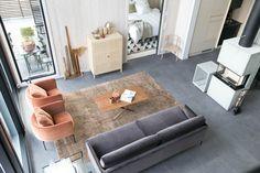 Asuntomessut 2017: Kannustalo Harmaja Saimaa - Modernisti kodikas Outdoor Furniture Sets, Outdoor Decor, Couch, Home Decor, Ideas, Settee, Decoration Home, Sofa, Room Decor