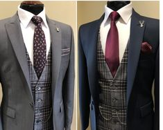 Whitfield & Ward is a one-stop shop for both men's suit hire and bespoke tailoring services, offering a personal experience from start to finish. Wedding Suit Hire, Wedding Men, Barn Wedding Inspiration, Country Barn Weddings, Bespoke Tailoring, Mens Suits, Suit Jacket, Men Casual, 3 Piece