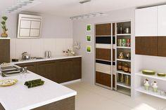 sliding kitchen cupboard doors - Google Search
