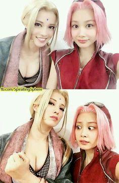 The look on Sakura's face