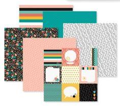 Be Bold & Flourish Creative Memories Paper Pack  #Creative Memories #scrapbooking