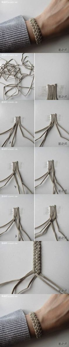 How to make your very unique bracelet step by step DIY instructions ? How to how to make step by step picture tutorials diy instructions craft do it yourself ?(How To Make Bracelets)