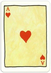 Ace Of Hearts Card Image From Le Jeu De Cartes Des Croisades Con