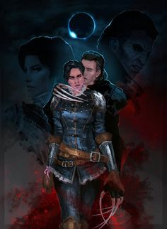 Dettlaff and Syanna by cyberaeon