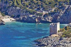 Kymisala Tower Sienna village Rhodes island