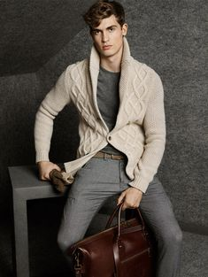 parfaitgentleman: Massimo Dutti Lookbook November 2014