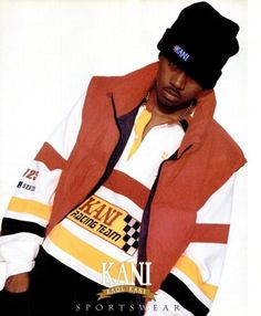 Nas for Karl Kani - The 90 Best Hip-Hop Fashion Ads of the '90s | Complex
