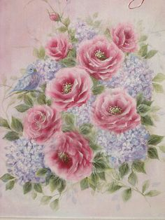 shabby rose picture
