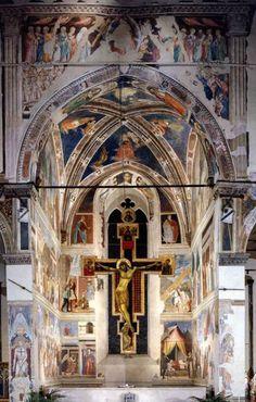 Piero della Francesca, View of the Cappella Maggiore, 1452-66