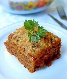 สูตรอาหาร - ลาซานญ่าซอสเนื้อ