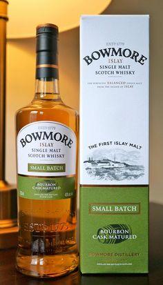 The Bowmore Small Batch Bourbon Matured Islay Single Malt Scotch Whisky