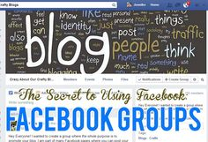 Great tips and tricks for using Facebook groups to grow your blog. #howtoblogseries