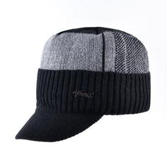 Men's Winter Knitted Baseball Caps - Black,Gray,Blue  Snapback  Baseball Hats Outfit Shop Product Website Store Online Hats For guys outfit style fashion design mens men for boys mens accessories cool 2017 look products shops websites for sale online store shop trend awesome gifts ideas inspiration for teens autumn/fall AuhaShop.com