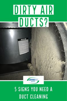 Dirty ducts can negatively affect the air quality in your home, causing you to breathe in dust and other debris. Check out our article for some sings that mean it's time for a duct cleaning.