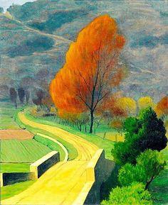 Felix Vallotton (1865-1925) Bridge over the Beal 1922