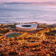 In only 6 weeks the SEVENS will be in the greenpoint stadium! A fantastic venue for holding Cape Town in December. Modern and great for events by . Who Got tickets for the Sevens? Tourist Info, Table Mountain, The Seven, Get Tickets, Miami Beach, Cape Town, Airplane View, South Africa, Cool Pictures