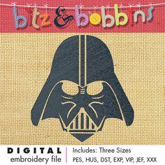 Darth Vader Inspired - Digital Embroidery Design