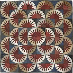 Points of Pride Quilting Pattern from the Editors of American Patchwork & Quilting Quilting Projects, Quilting Designs, Quilting Ideas, American Patchwork And Quilting, New York Beauty, Red And White Quilts, Homemade Quilts, Medallion Quilt, Patriotic Quilts