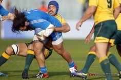 Sharpe e Castrogiovanni italia australia rugby onrugby.it