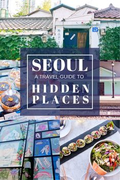A colorful & illustrated travel guide to Seoul. No matter if for a day trip or a longer vacation, Seoul offers so much: Museum exhibitions, traditional architecture next to modern high-rise buildings, parks and restaurants. Seoul Korea Travel, South Korea Seoul, Asia Travel, Seoul Travel Guide, Overseas Travel, Solo Travel, Petite France, Hidden Places, Delicious Vegan Recipes